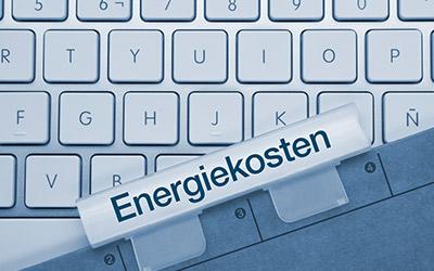 Darstellung von Energiekosten