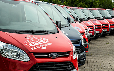 Unternehmen Autos mit dem Hack Kälte-System Logo